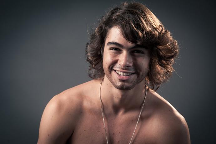 Rafael Vitti curtiu se ver de barba (Foto: Fabiano Battaglin / Gshow)
