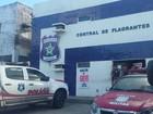 Suspeito de assalto a loja é agredido  (Ivan Amorim/TV Gazeta)