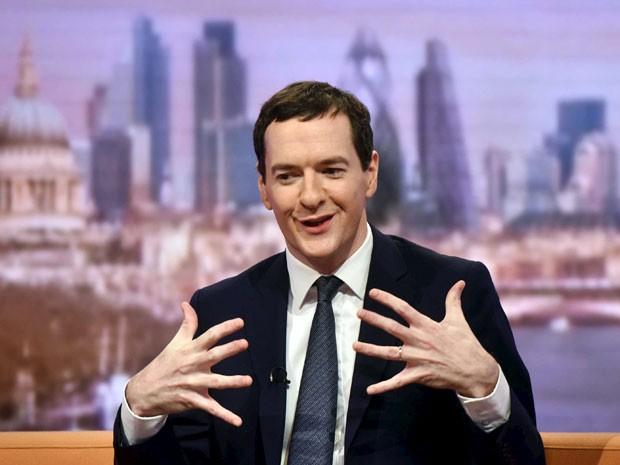 George Osborne dá entrevista em programa da BBC.C in London (Foto: Reuters)