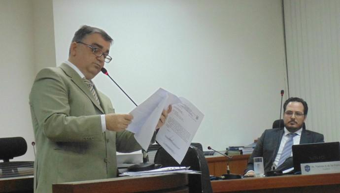 Osvaldo Sestário, advogado (Foto: Daniela Lameira/Site STJD)