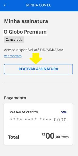 Reativar O Globo Premium (Foto: O Globo Premium)