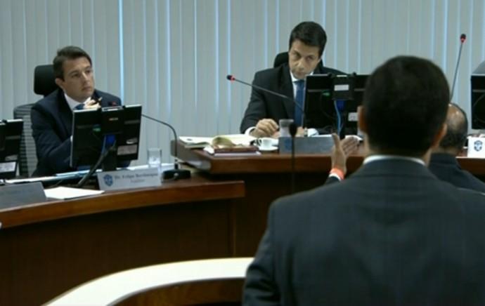FRAME julgamento STJD (Foto: Reprodução)