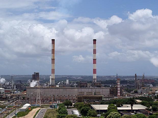 Polo Industrial de Camaçari fica na região metropolitana (Foto: Egi Santana/G1 BA)