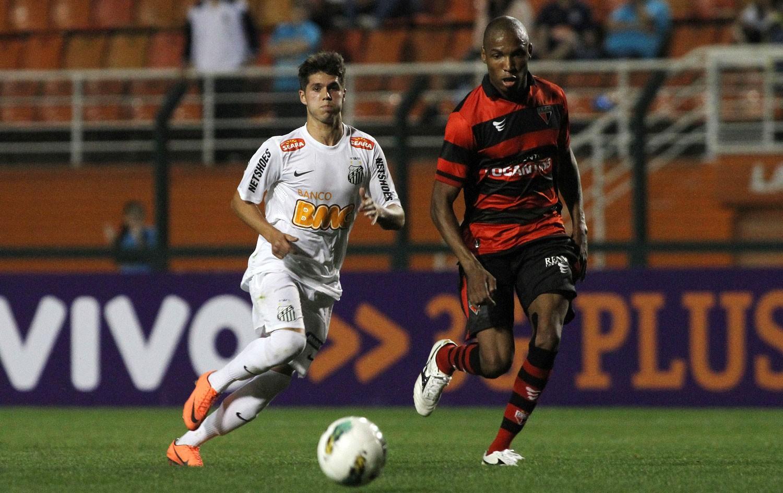 Santos X Atletico Go Campeonato Brasileiro 2012 Sportv