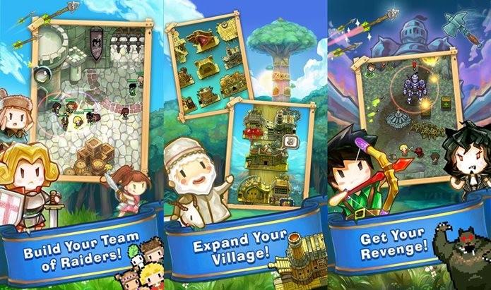 Robin Wood fofinho é o protagonista de um game com muita açaõ (Foto: Divulgação)