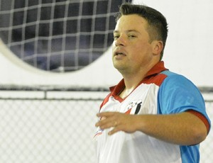 Jabá treino Grêmio Mogiano (Foto: Bruno Rocha)
