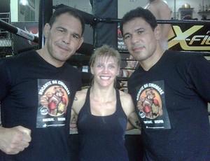 Duda Yankovich, Minotauro e Minotouro, MMA, UFC (Foto: Reprodução / Twitter)