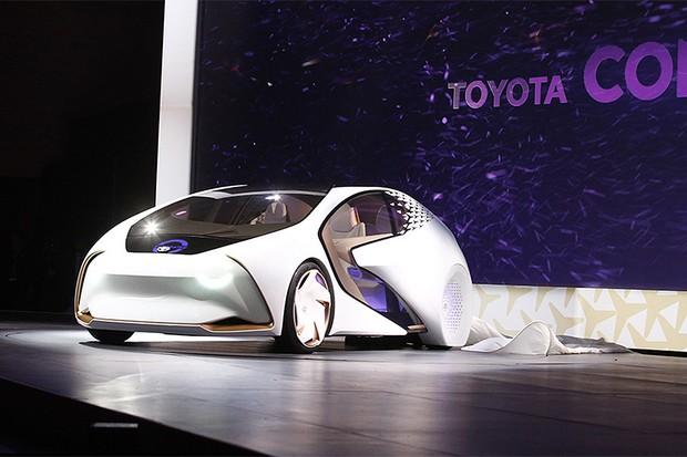 Toyota revela novo carro conceito na CES 2017 (Foto: CES)