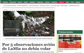 Jornal: empresa aérea foi questionada,  mas convenceu agência a liberar voo
