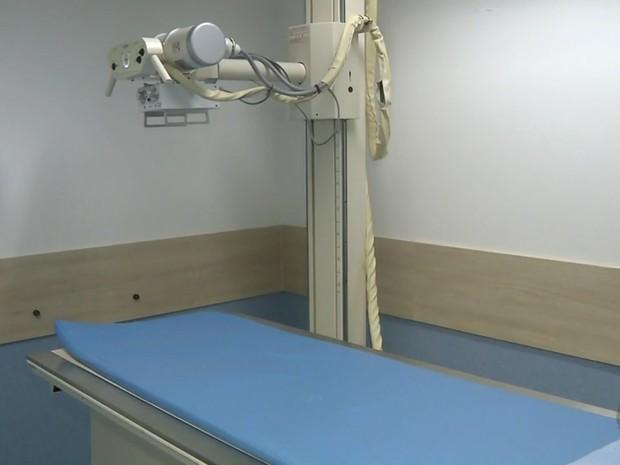 Nova sala de raio-x deve realizar ao menos 200 atendimentos por dia em Pouso Alegre (MG) (Foto: Reprodução EPTV/Edson de Oliveira)
