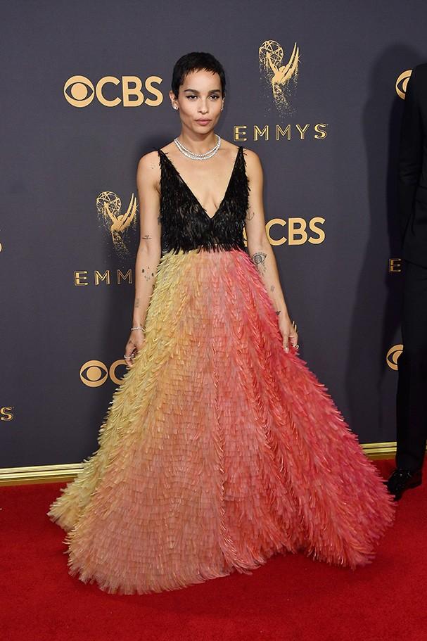 Zoe Kravitz veste Dior (Foto: Getty Images)
