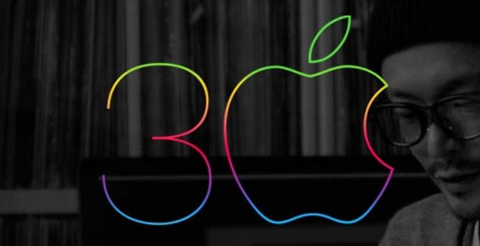 30 anos do primeiro macintosh (Foto: Divulgação/Apple)