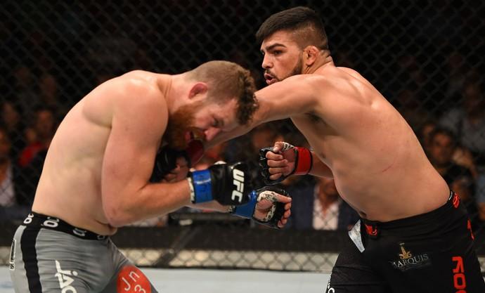 Kelvin Gastelum Nate Marquardt UFC 188 (Foto: Getty Images)