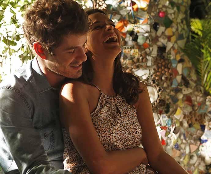 Os casal MariBen já protagonizou cenas lindas no Mirante de Paraisópolis, como nesta cena (Foto: Ellen Soares/Gshow)