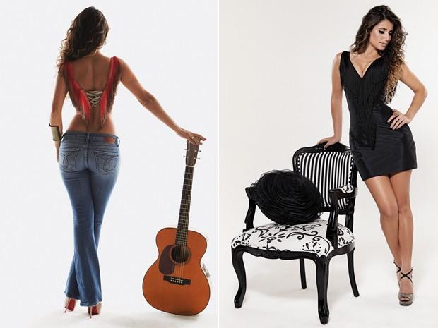 A cantora Paula Fernandes lança o sétimo disco de sua carreira (Foto: Divulgação)