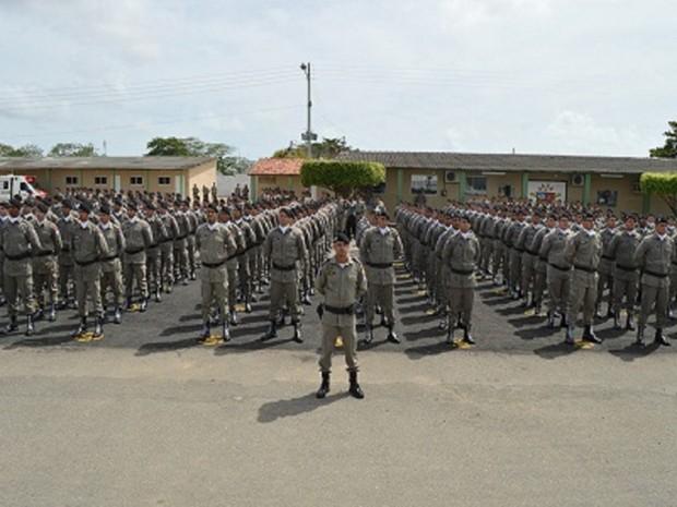 Militares vão ser distribuídos em vários municípios com festas (Foto: Ascom/PM)