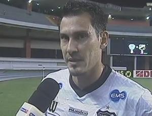 Adriano Alves - zagueiro do ABC (Foto: Reprodução/Premiere FC)