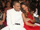 Assumidos, Rihanna e Chris Brown vão juntos ao Grammy