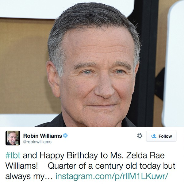 Robin Williams (Foto: Getty Images/Twitter)