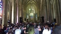 Arquitetura e arte das igrejas são atrativos (Bruno Rodrigues/G1)