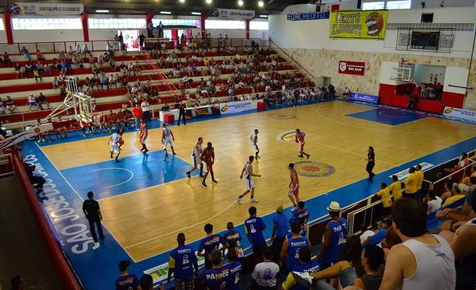 Ginásio Lineu de Moura (Foto: Danilo Sardinha/GloboEsporte.com)