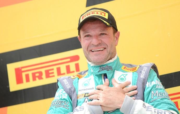 Barrichello campeão Stock Car (Foto: Duda Bairro / Divulgação)