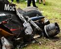 FIA investigará banco de Alonso após quebra em acidente com força de 46G