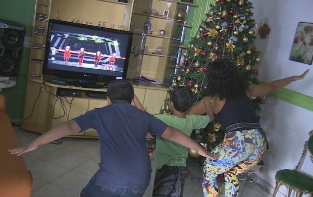 Novos games permitem interação interpessoal (Foto: Amazonas TV)