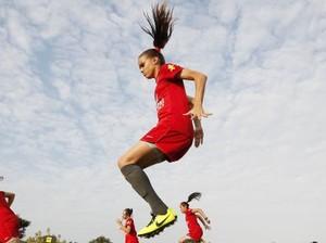 Ana Vitória, jogadora mato-grossense na seleção feminina (Foto: Rafael Ribeiro / CBF)