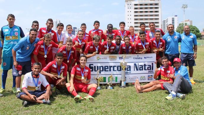 América-RN supercopa sub-17 (Foto: Canindé Pereira/Divulgação)