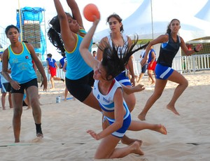 Taça Kika de Handebol de Areia (Foto: Rizemberg Felipe / Jornal da Paraíba)