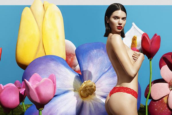 A modelo Kendall Jenner (Foto: Divulgação)