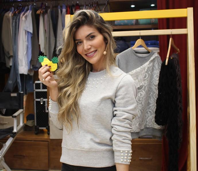 Patches podem deixar sua roupa mais divertida e na moda (Foto: Maria Eduarda/Gshow)