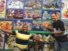 Leandro e Leonardo também fazem dupla afinada no carnaval do Rio