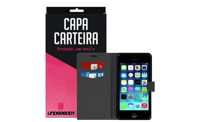 Capa com design de carteira para iPhone SE (Foto: Divulgação/Underbody)