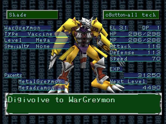 Digimon World 2 fez parte da série de sucesso (Foto: Divulgação)