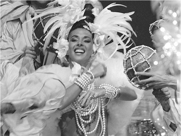 Betty Faria em no Musical Brasil Pandeiro em 1978 (Foto: Alcyr Cavalcanti/TV Globo)