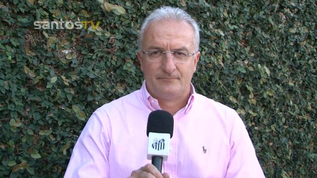 Dorival Júnior, novo técnico do Santos (Foto: Reprodução/TV Tribuna)