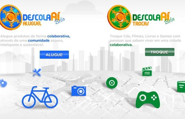 Site Descolaaí (Foto: reprodução / internet)