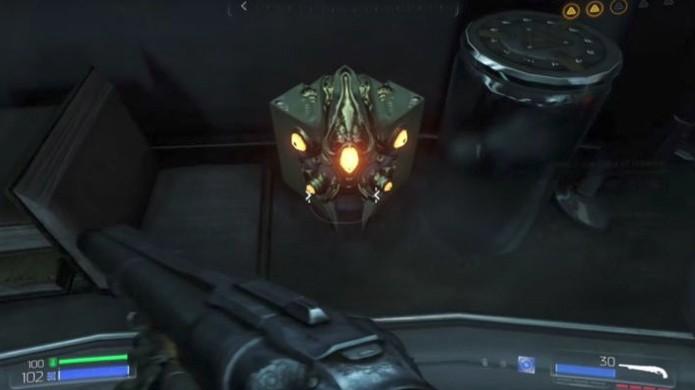 A mais poderosa arma de Doom 3 virou apenas um easter egg no novo Doom (Foto: Reprodução/Kotaku)