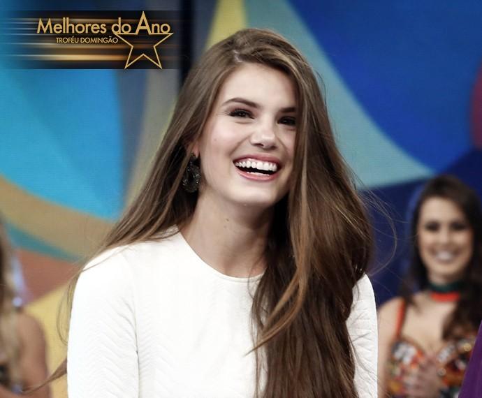 Camila Queiroz comenta a personagem que lhe rendeu indicação ao Melhores do Ano (Foto: Inácio Moraes / Gshow)