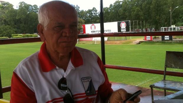 adalberto lopes, presidente do botafogo-ba (Foto: Thiago Pereira/Globoesporte.com)