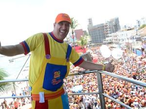 Tio Paulinho no Bloco Happy, em Salvador (Foto: Juarez Carvalho/Ag. Haack)