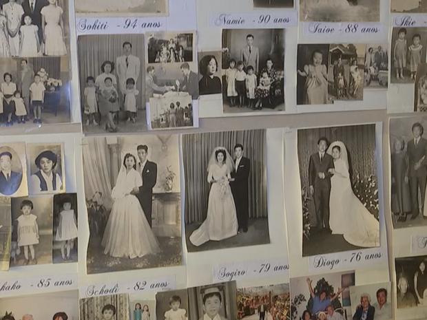 Casa estava cheia de fotos da família (Foto: Reprodução/TV TEM)