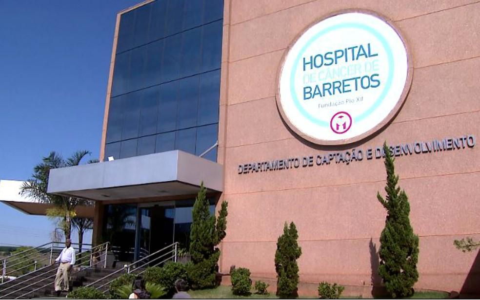 Hospital do Câncer de Barretos  (Foto: Cláudio Oliveira/EPTV)