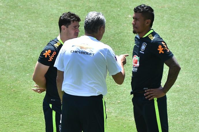 Paulinho Tite Brasil (Foto: AFP)