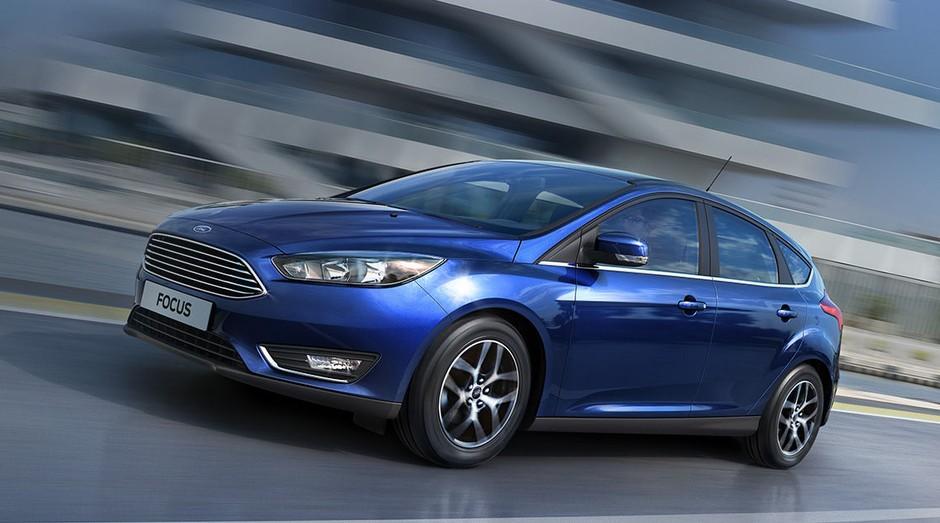 Modelo hatch do Ford Focus. Modelos usados nos EUA serão fabricados na China (Foto: Divulgação)