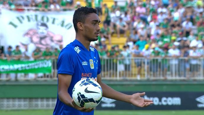 Eurico, volante do Cruzeiro (Foto: Reprodução/TV Globo Minas)