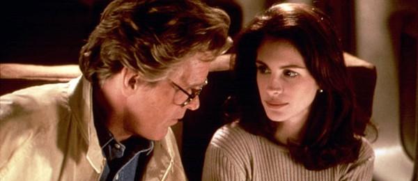 Nick Nolte e Julia Roberts, em 'Adoro Problemas' (1994) (Foto: Divulgação)