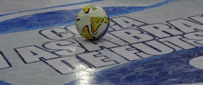 bola futsal copa tv asa branca (Foto: André Ráguine / GloboEsporte.com)